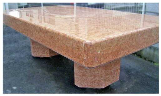 スペイン産天然大理石テーブル