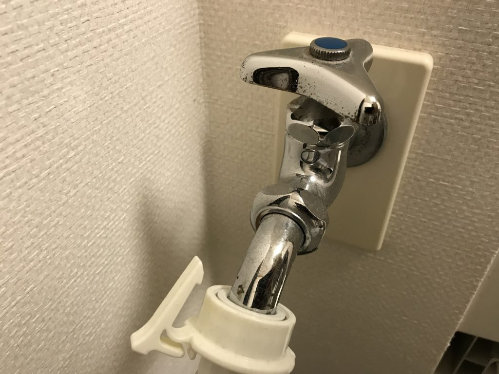 洗濯機の水栓蛇口