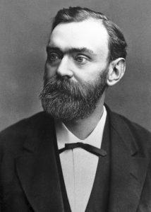 Akfred Nobel 1885© The Nobel FoundationNeg 91 08 20