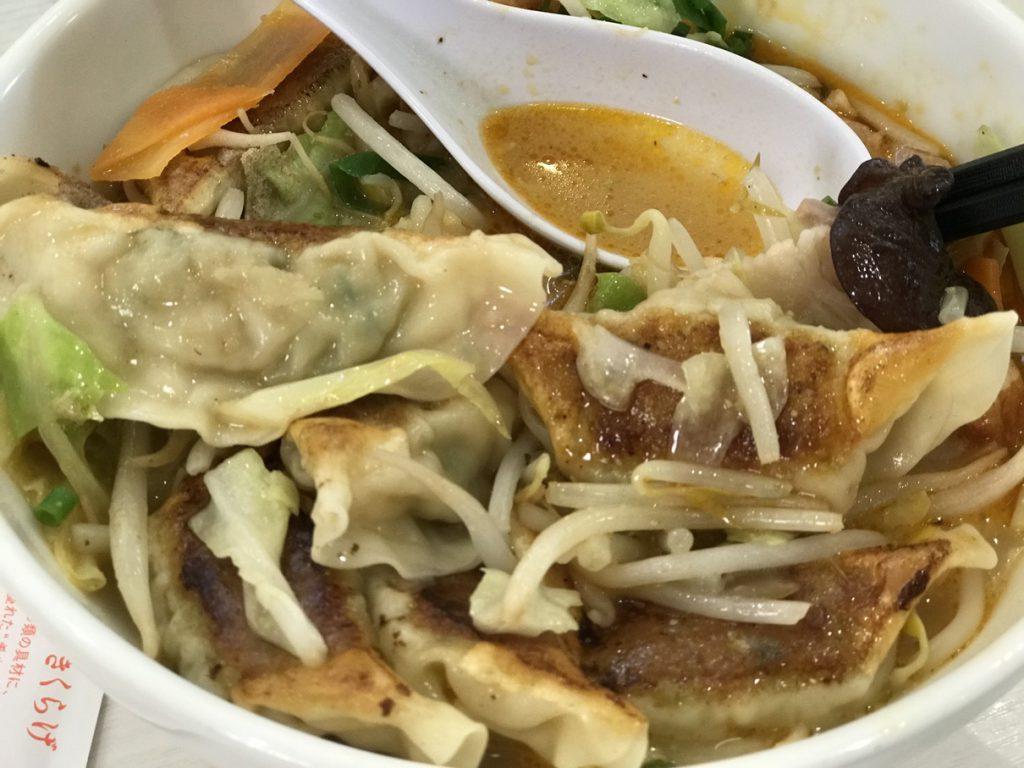 餃子ちゃんぽんスープ