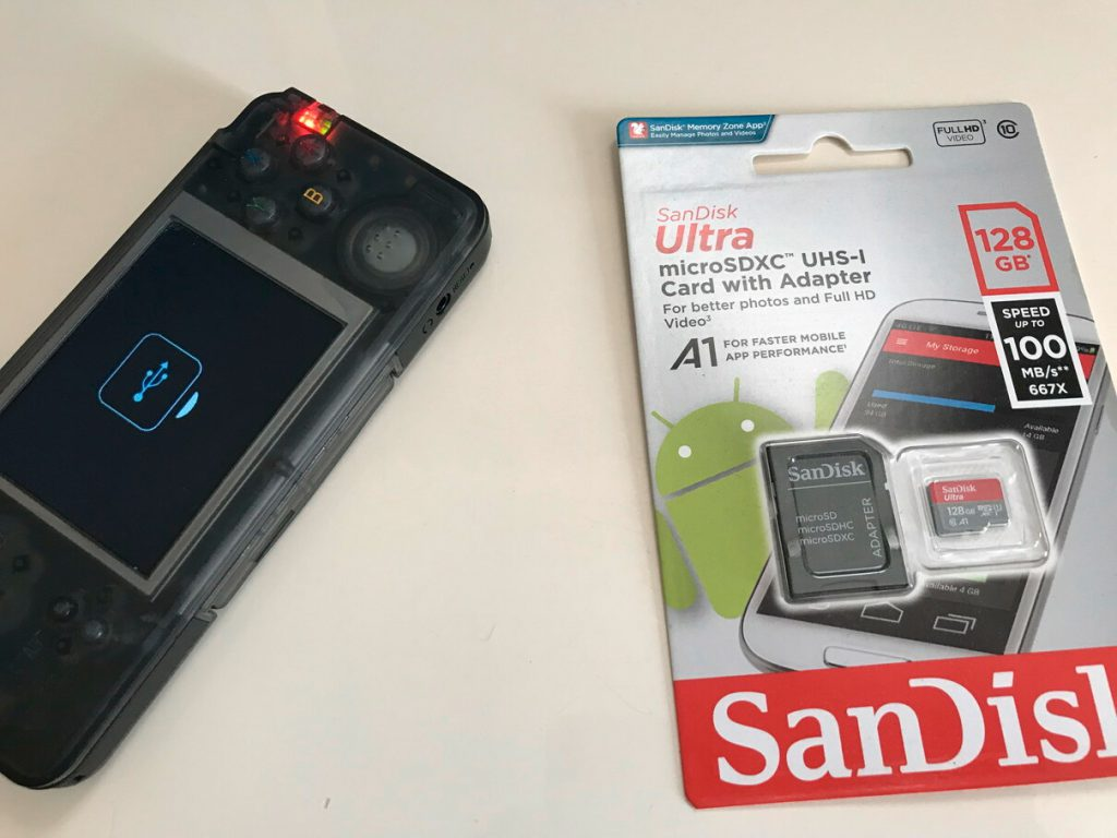 RS-97とMicro SDカード