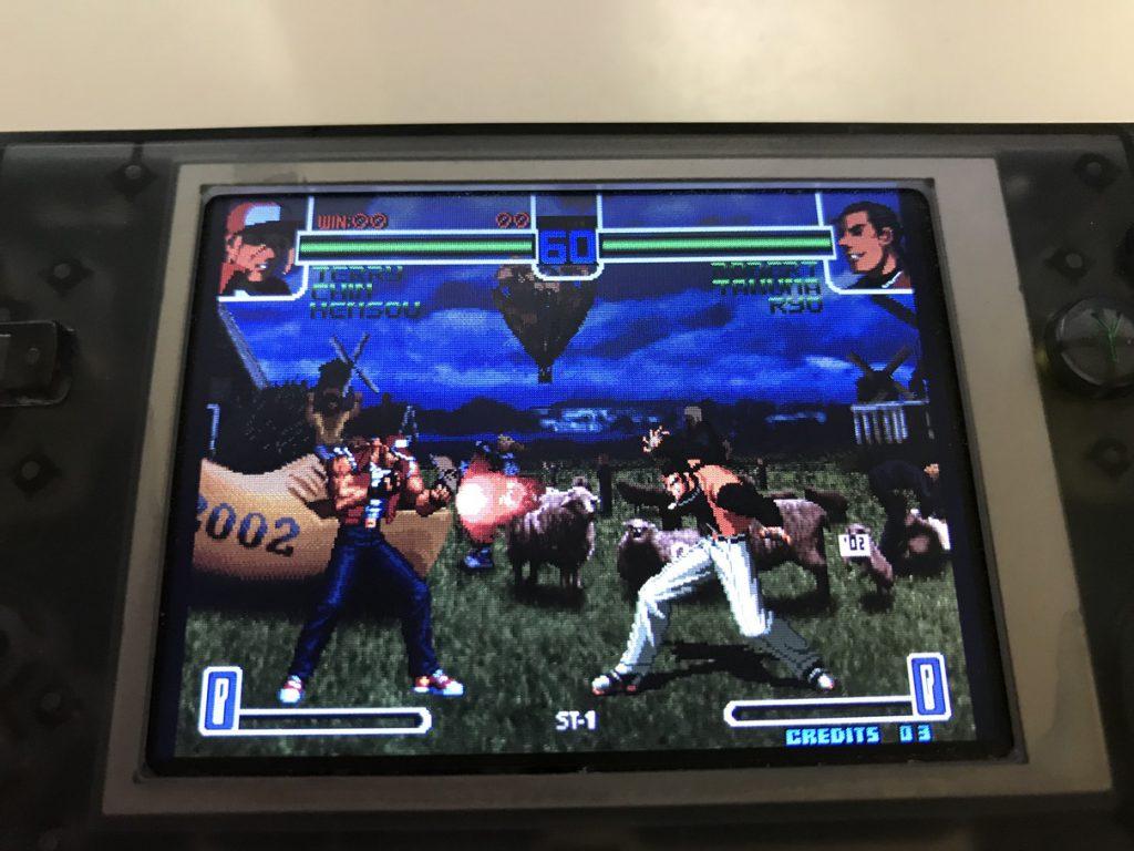 RS-97 ゲーム画面
