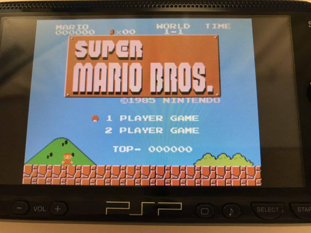 PSP スーパーマリオ起動